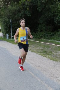 Stu Nicholas taking on the Purbeck 10k