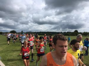 Tom Paskins in the Puddletown Plod Half Marathon