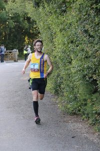 Tom Paskins in the Purbeck 10k
