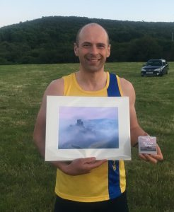 Alex Goulding was 1st M40 at the Purbeck 10k