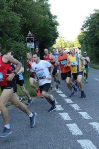 Alex Goulding in the Purbeck 10k