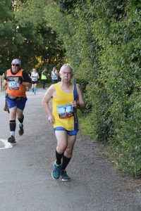 Dave Parsons in the Purbeck 10k