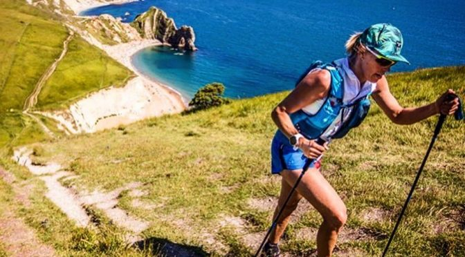 Linn Erixon Sahlstrom in the Jurassic Coast 100 Mile Ultra