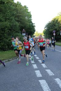 Lucy du Cros taking on the Purbeck 10k