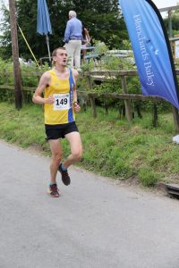 Mitch Griffiths finishes the Tarrant Valley 10