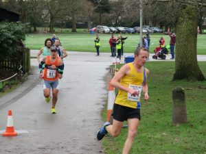 Stu Glenister taking on the Littledown Marathon