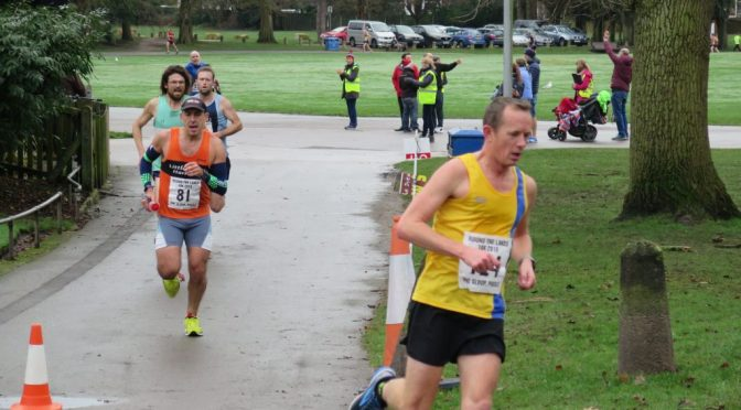 Stu Glenister at the Littledown Marathon