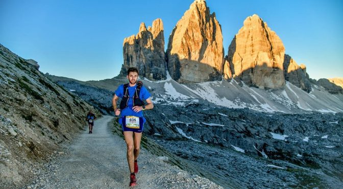 Toby Chapman in the Lavaredo Ultra Trail