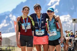 The top 3 women in the Mont-Blanc 23k