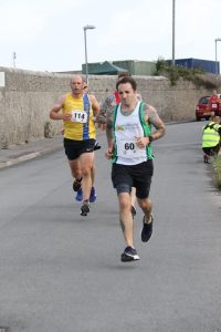 Alex Goulding in the Round the Rock 10k