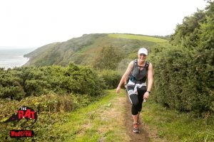 Anna Trehane makes her way in the RAT Black race