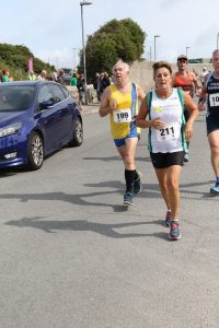 Dave Parsons in the Round the Rock 10k