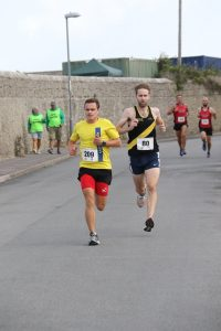 Ed Porter in the Round the Rock 10k