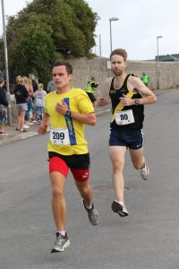 Ed Porter racing the Round the Rock 10k