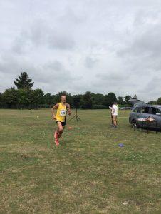 Jacek Cieluszecki in the Sturminster Newton Half Marathon
