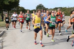 Jud Kirk starts the Round the Rock 10k