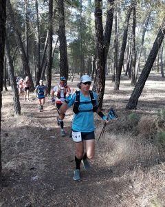 Mark Hillier in Al Andalus Ultimate Trail