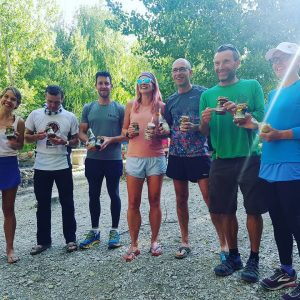 Winners from day 2 of Al Andalus Ultimate Trail
