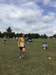 Steve Way in the Sturminster Newton Half Marathon