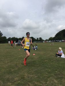 Toby Chapman in the Sturminster Newton Half Marathon