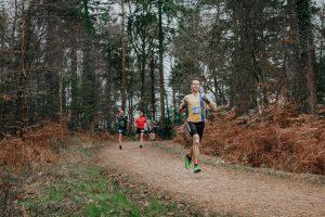Chris Phelan-Heath in the New Forest Marathon 5k