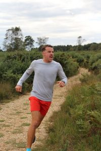 Craig Palmer in the Lytchett Relays