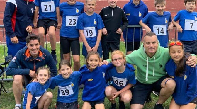 Great Performance by BAC Junior Athletes at Basingstoke on 28 August 2019