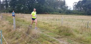 Ian White in action in the Lytchett Relays