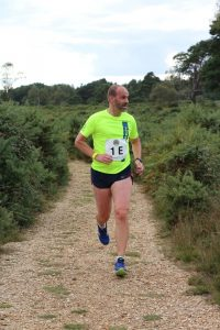 Ian White in the Lytchett Relays