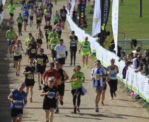 Katrina White in the New Forest Half Marathon