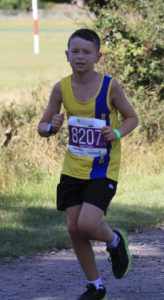 Nathan Mearns in the New Forest Marathon 5k