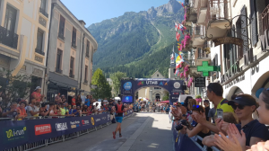 Ollie Stoten finishes the MCC at the UTMB