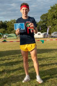 Rob McTaggart did 2nd fastest lap at Lytchett Relays