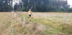 Simon Hearn in the Lytchett Relays