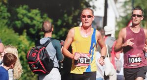 Simon Hearn in the Maidenhead Half Marathon