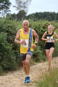 Simon Hunt in the Lytchett Relays