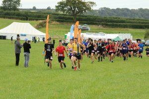Start of the Crafty Fox Marathon