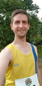 Steve Parsons after the Lytchett Relays