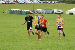 Lead group in Crafty Fox Marathon