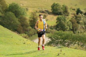 Stu Nicholas progresses through the Crafty Fox Marathon