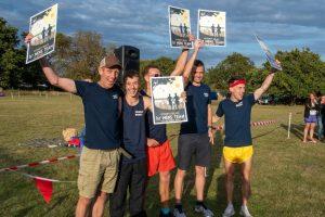 Winning team at Lytchett Relays