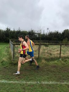 Rich Brawn in the Hampshire League Cross Country