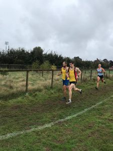 Rich Brawn makes headway in the Hampshire League Cross Country