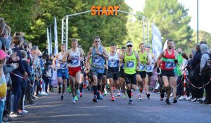 The start of the BMF Marathon