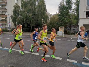 Craig Palmer in the Berlin Marathon