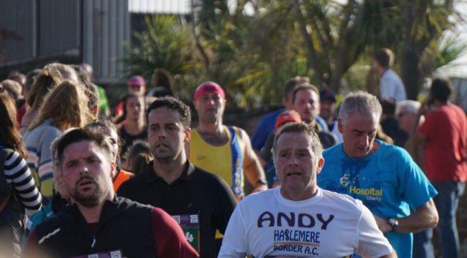 John Preest in the BMF Marathon