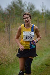 Kirsty Drewett battles the Black Hill 10k