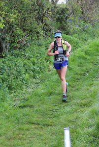 Kirsty Drewett braved the Purbeck 16