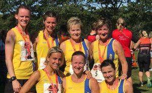 Ladies Team after the Littledown 5