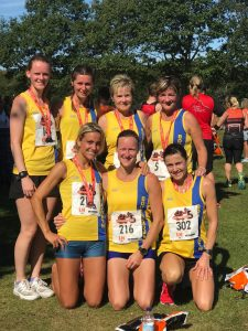 Ladies Team at Littledown 5